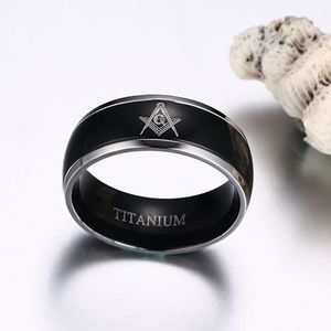Accessories - Stainless Steel Titanium Band Ring
